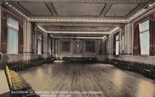 Ball Room Multnomah Hotel Portland Oregon Postcard 1910's