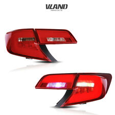 Replacement LED Tail Lights For TOYOTA CAMRY 2012-2014 Red Lens Rear Lamp