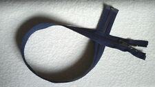 27 inch Dark Navy Blue Nylon Coil #5CV Separating YKK Zipper (Not invisible)