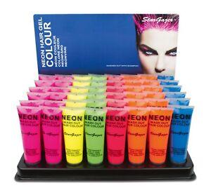 Stargazer UV Neon Bright Wash Out Hair Colour Gel Temporary Dye Paint 50ml