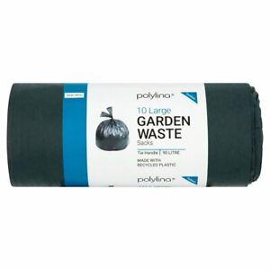 Polylina Tie Handle Large Garden Waste Sacks 90L