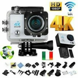 Pro Cam 4K SPORT WIFI ACTION CAMERA ULTRA HD VIDEOCAMERA SUBACQUEA GO001-PRO