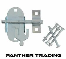 Forge Oval Pad Bolt Padlock Friendly Strong Gate / Door Security - FGEPBLTOVZP