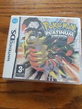 Original Juego Pokemon Platino Nintendo DS-muy Buen Estado CE