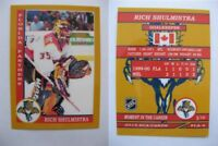 2015 SCA Rich Shulmistra Florida Panthers goalie never issued produced #d/10
