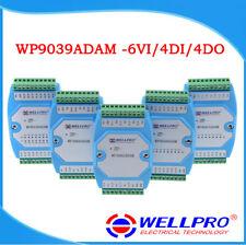 0-10V voltage acquisition module 6VI/4DI/4DO MODBUS communication