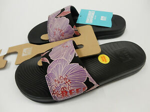 Reef Womens Reef One Slide Purple Blossom 9