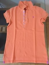 POLO RALPH LAUREN 12 - 14 ANS ORANGE NEUF