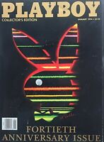 January 1994 40th ANNIVERSARY ISSUE of  PLAYBOY Magazine COLLECTOR'S EDITION