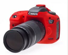 easyCover Canon 7D Mark II Protective Camera Cover RED Silicone Free US Shipping