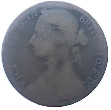 1876H ONE PENNY OF QUEEN VICTORIA     #PZS133