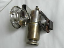Antique HEADLIGHT CARBIDE Search-Light Bicycle Lamp icca VINTAGE ACETYLENE