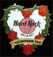 Hard Rock Cafe MIAMI 2002 Valentine's Day PIN Barbed Heart HRC Catalog #11574