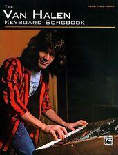 EDDIE VAN HALEN - KEYBOARD - PIANO SONG BOOK NEW
