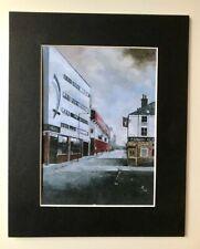 Stunning Bramhall Lane Street Scene Print | Sheffield United | Mick Rick signed