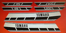 YAMAHA RD125DX RD200DX RESTORATION DECAL SET 1976