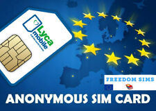 Anonymous Active NL Prepaid - Sim Card, Receive Free SMS for verification etc.