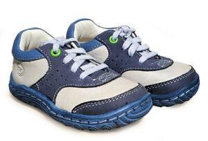 WIDE new BB43398 Stride Rite SRT Charles navy Infant Toddler boys walking shoe