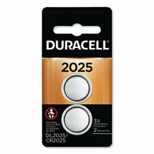 Lithium Coin Battery, 2025, 2/Pack