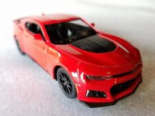 "New Kinsmart 5"" 2017 Chevrolet Camaro ZL1 Diecast Model Toy Car 1:38 Chevy - RED"