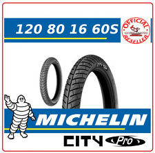 KYMCO Agility 4T R16 E3 125 2008-2015 REAR TYRE 120 80 16 CITY PRO 60S MICHELIN