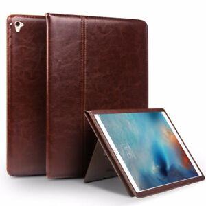iPad Pro Air 2 Genuine Italian Leather Premium Ultra Slim Case Cover QIALINO