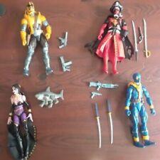 Marvel Legends Deadpool lot of 4 Figures, Loose and Complete 2020