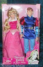 Disney Designer Aurora/Sleeping Beauty & Prince Phillip 2 Classic Doll Set/Pack