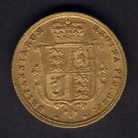 Australia.  1887 Sydney - Young Head. Half Sovereign..  Much Lustre..  aEF