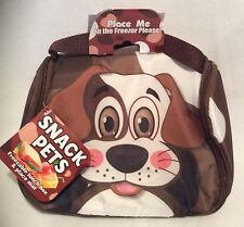 Snack Pets - Freezable Lunch Box And Place Mat - Baxter the Dog - Brand New