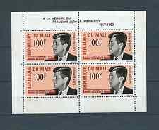 MALI - 1964 YT 3 - BLOC NEUF* trace de charnière - KENNEDY