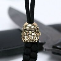 Metal Beads Paracord Charms Bracelet Buckle Lanyard Survival Knife Accessories