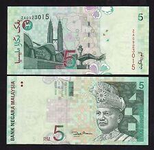 Malaysia 5 Ringgit (2001) REPLACEMENT ZA P41b Paper Money - UNC