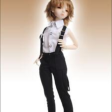 """Dollmore 17"""" 1/4 BJD doll clothes  MSD - Miro Straps Pants (Black)[A1]"""