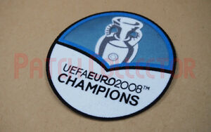 Euro 2012 - 2008 Champions Spain Football Sleeve Soccer Patch / Badge