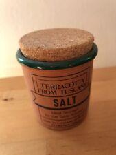 "Gewürzdose aus Ton, ""Salz"""