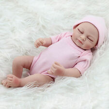 Handmade Real Looking Newborn Baby Vinyl Silicone Realistic Reborn Dolls Girl