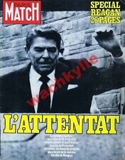 Paris Match n°1663 du 10/04/1981 Reagan Philips Barnum Arno Breker