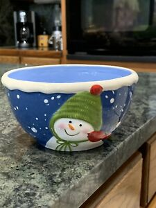 St Nicholas Square Snow Days cereal bowl
