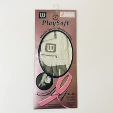Wilson's Playsoft Golf Glove L Reg Left Hope Breast Cancer Cabretta Leather Pink