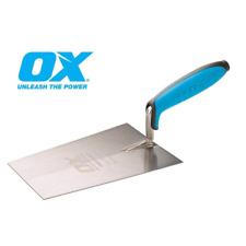 "OX PRO Tools 7"" / 180mm Bucket Trowel - Stainless Steel OX-P018418"