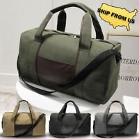 New Sport Duffle Bag Gym Luggage Travel Handbag Canvas Training Shoulder Bag