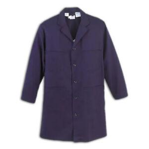 Workrite Nomex Flame Resistant Lab Coat Blue Lightweight FR Clothes Uniform