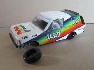 762A Kit artisanal base Heller Range Rover Vsd #153 Dakar 1982 Zaniroli 1:43