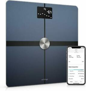 Withings Body+ - Wi-Fi Body Composition Smart Scale Black