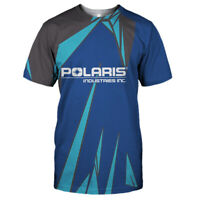 Polaris Industries T-Shirt-3D/Logo/Size S to 5XL-TOP GIFT-FREE SHIPPING WORLD