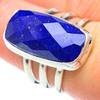 Lapis Lazuli 925 Sterling Silver Ring Size 7.5 Ana Co Jewelry R51870F