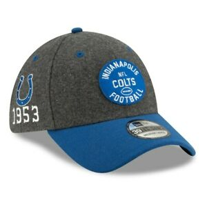 INDIANAPOLIS COLTS EST 1953 NEW ERA HAT 39THIRTY NFL ONFIELD FOOTBALL FITTED CAP