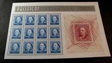 US Stamp Scott#  3139 Franklin 1997 Pane of  12  MNH  C417