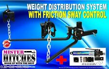 365KG (800LB) WEIGHT DISTRIBUTION SYSTEM PLUS FRICTION SWAY CONTROL